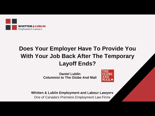 COVID-19 & Employment Rights: Employment Questions Answered