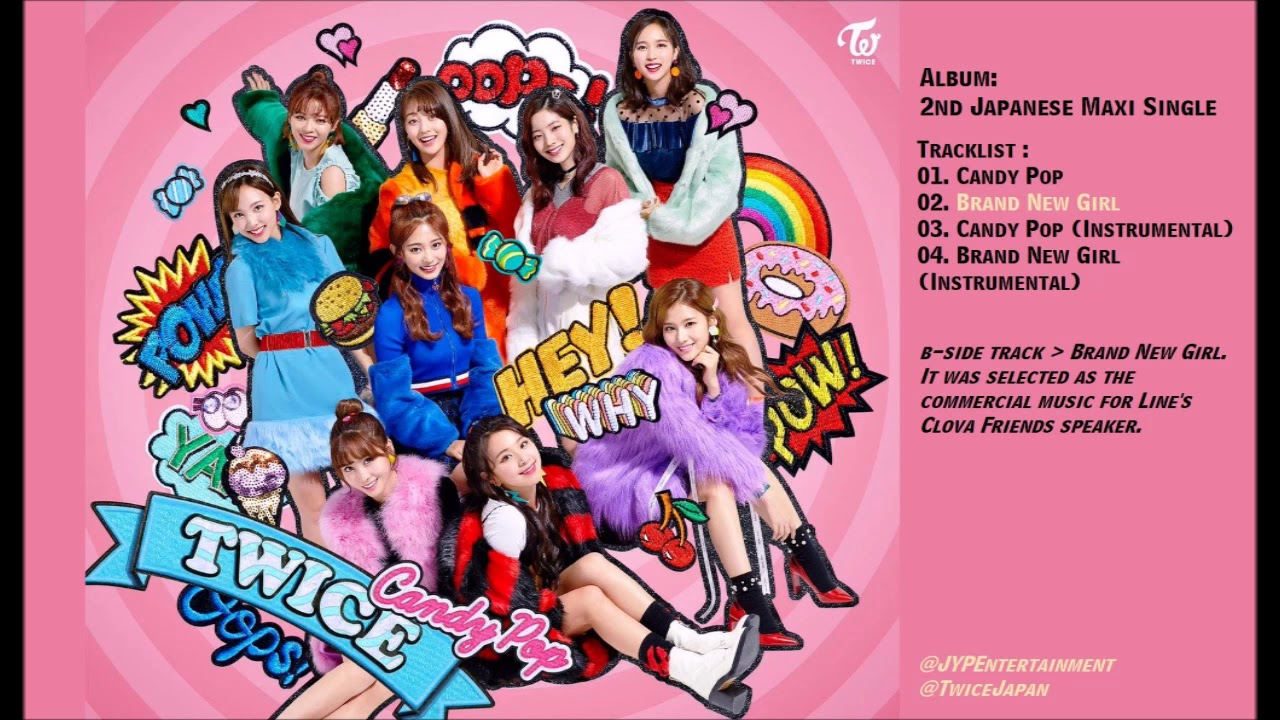 [FULL ALBUM] Twice - Candy Pop 2nd Japanese Single Album