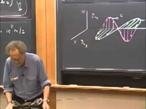 Lec 13: Electromagnetic Waves, Polarization | 8.03 Vibrations and Waves (Walter Lewin)