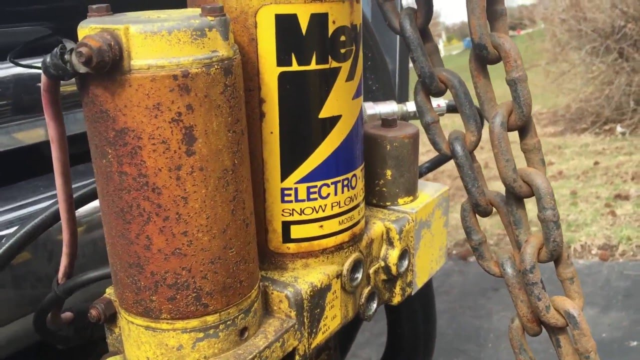 medium resolution of how to change hydro oil meyers e 47