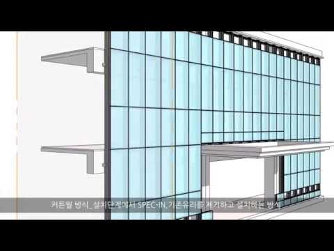 G-Smatt: Installation Method #3 Curtain Wall Type