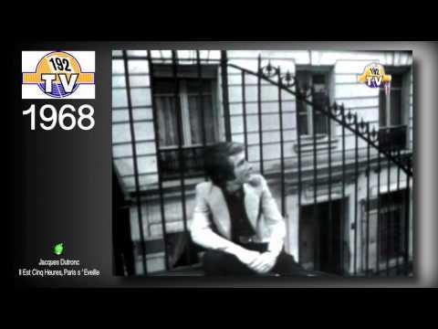 Jacques Dutronc - II Est Cinq Heures Paris s'eveille 1968