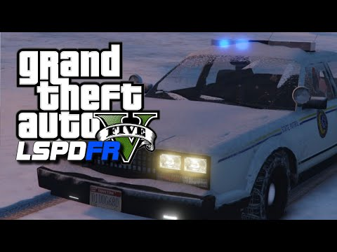 GTA 5 LSPDFR #1 - North Yankton State Patrol - GTA 5 Police Role-Play