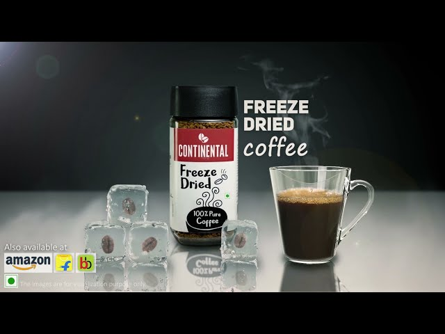 Continental Freeze Dried Coffee - 6 Seconds