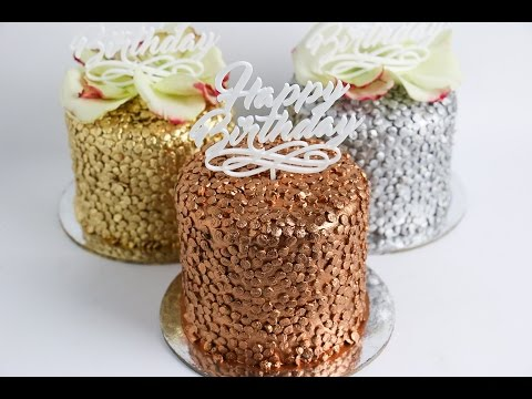 Mini Confetti Cake Tutorial - Rosie's Dessert Spot