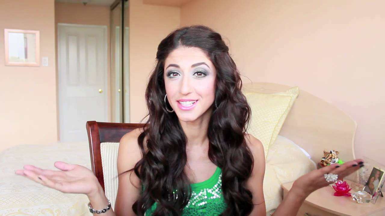Easy Loose Curls Hairstyle Youtube