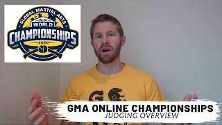 GMAU World Championships 2020 - Explanation of Judging
