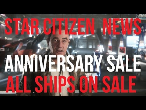 Star Citizen News | All Anniversary Ships on Sale & Tevarin Heads