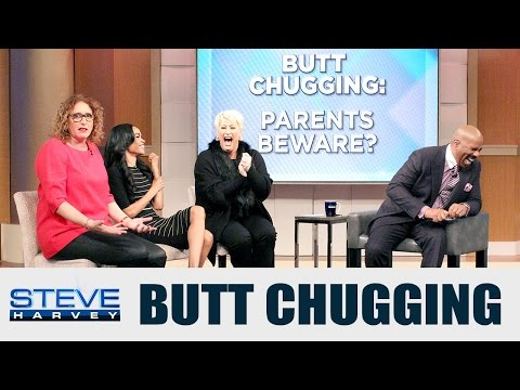 #ThePanel: What Is Butt Chugging? || STEVE HARVEY