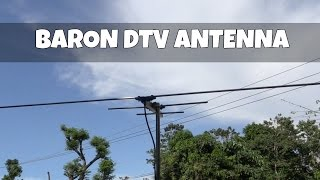 Baron long range digital TV antenna
