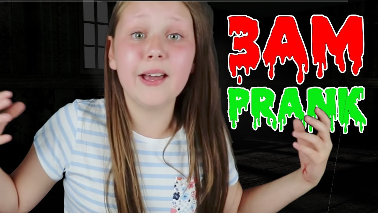 Pranking Ruby Rube At 3am Omg So Scary Youtube