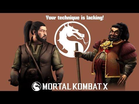 Mortal Kombat X (PS4) Bo' Rai Cho  (Dragon Breath) Endless Tower