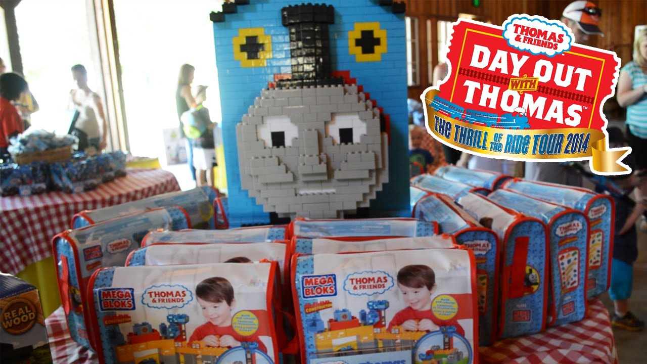 Day Out With Thomas Toys Merchandise And Souvenirs 2014 Youtube