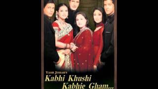 Song -  Kabhi Khushi Kabhie Gham ♫  اغنية كابي خوشي كابي غم