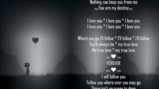 I Will Follow You ༺♥༻ Toulouse ༺♥༻ Full/Lyrics