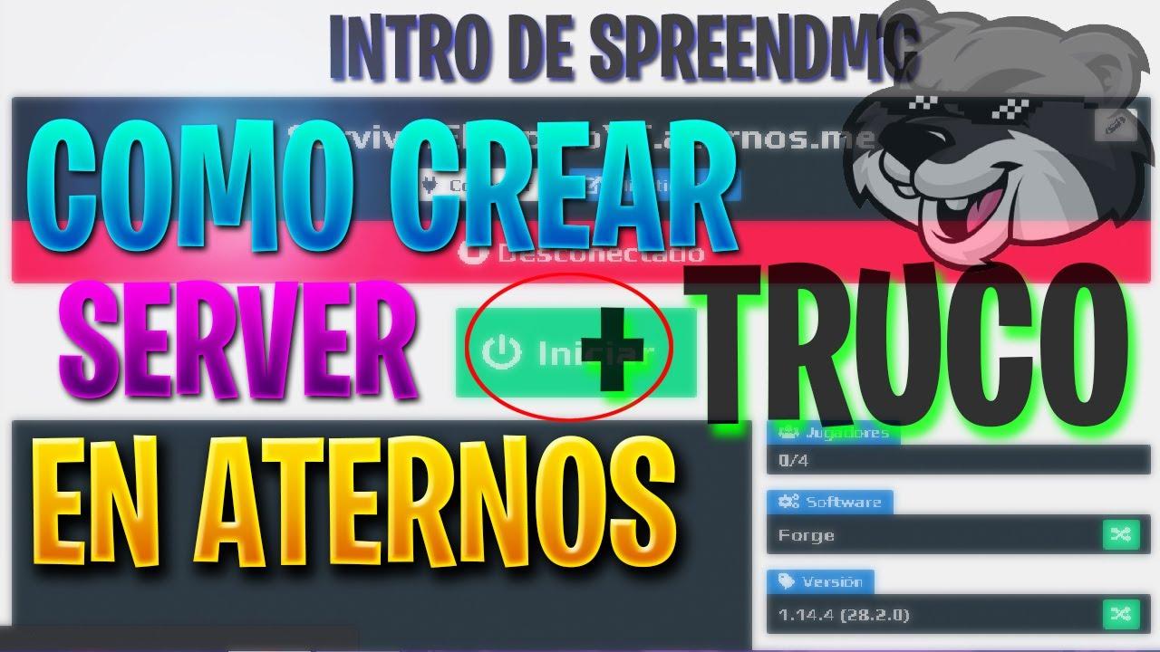 COMO CREAR UN SERVIDOR EN ATERNOS SIN ESPERAR COLA   - YouTube