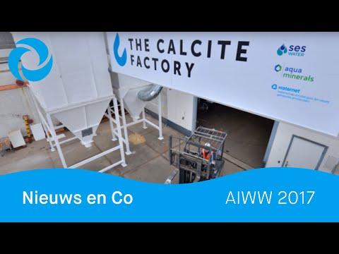 Nieuws en Co kwam langs bij onze Calcite Factory tijdens de AIWW 2017