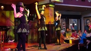 """Irish Dancers"" at the Raglan Road, Irish Pub n Restaurant, Downtown Disney, Walt Disney World"