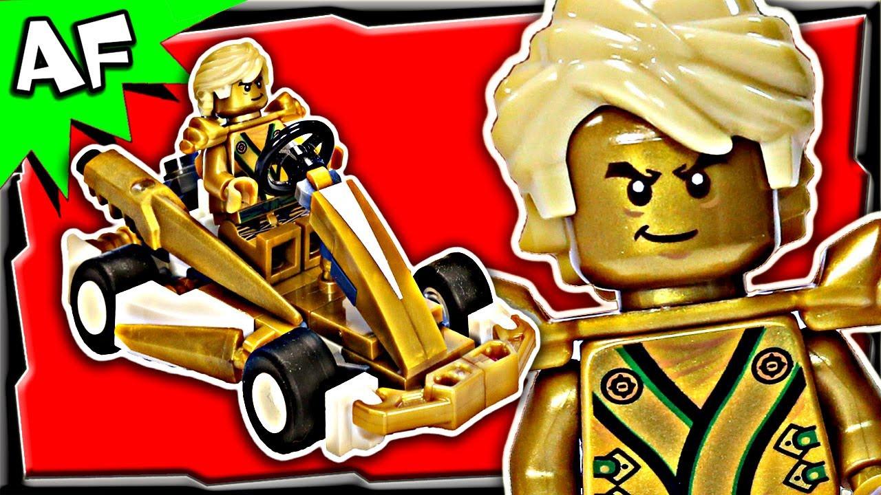 Worksheet. Lloyd GOLD NINJA GOKART Custom Lego Ninjago Build Review 70503