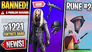 Fortnite News: first Ruin appeared, New Leaked Nitehare, Reboot Vans removed in competitive & More!