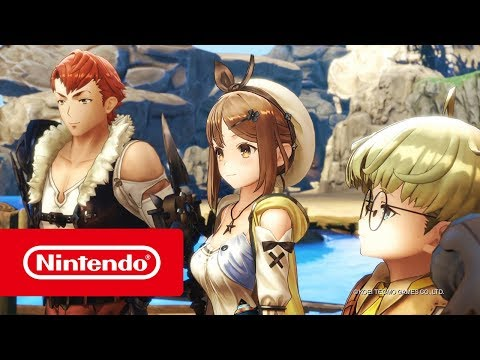 Atelier Ryza: Ever Darkness and the Secret Hideout  Launch Trailer