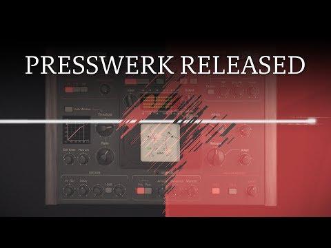 Introducing Presswerk, a dynamics processor from u-he