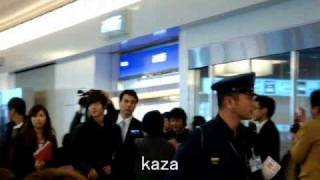 リダ来日20101212羽田国際空港