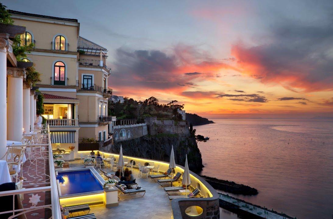 Matrimonio All Hotel Bellevue Syrene Sul Mare A Sorrento