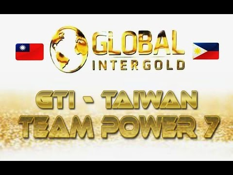 GlobalInterGold Team Power7 1st payout @ Taiwan