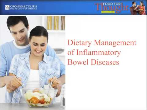 Food for Thought: Nutrition & IBD - 4/10/13