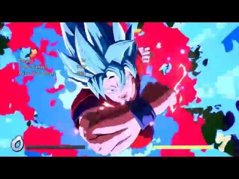 DBFZ - SSGSS Goku 10k solo combo