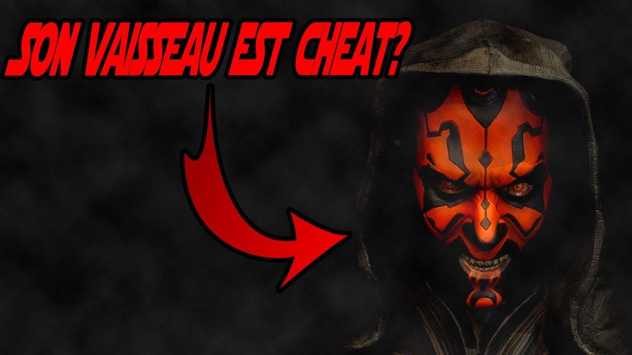 Dark maul ton vaisseau star wars battlefront 2 youtube - Vaisseau dark maul ...