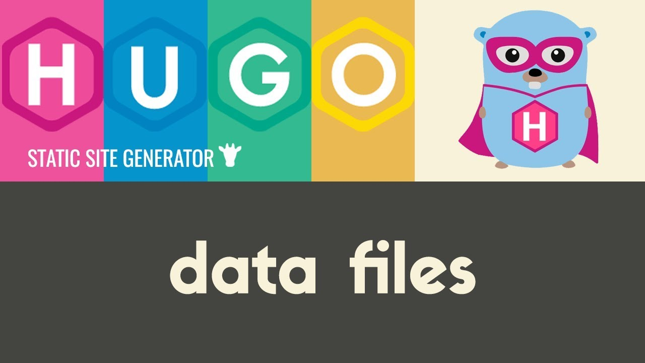 Data Templates | Hugo