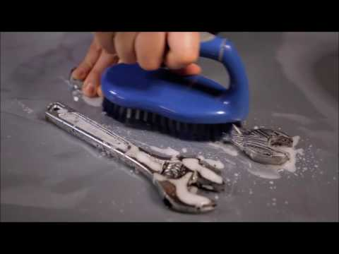 Remove Grease on Tools