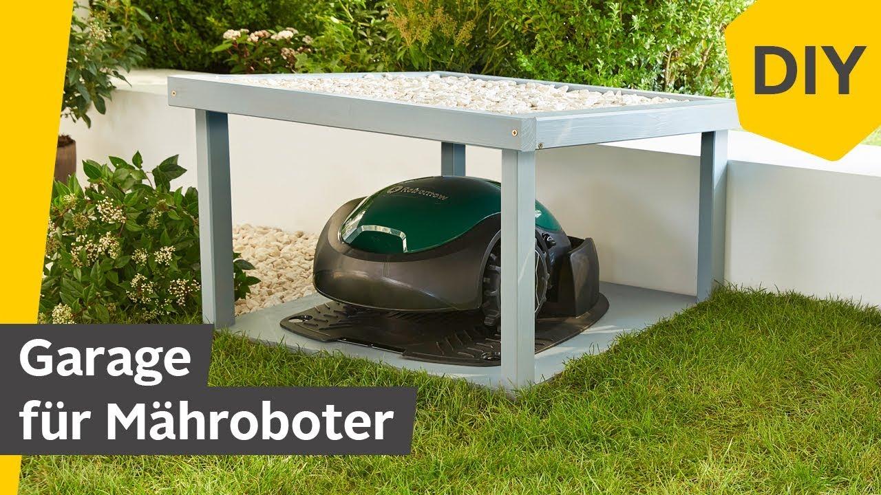 Mhroboter Garage selber bauen - einfache DIY-Anleitung ...