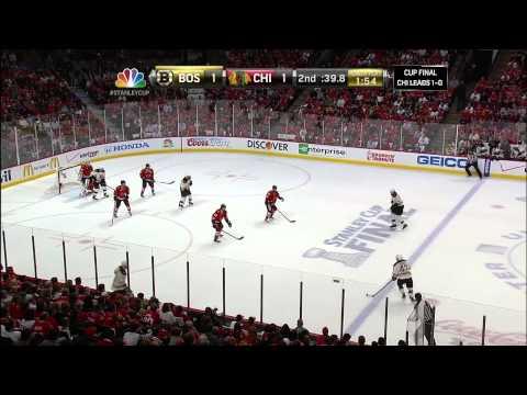 Bruins-Blackhawks Game 2 Stanley Cup Finals 6/15/13