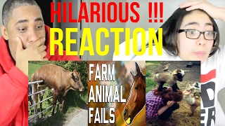 Hilarious Farm Animal Fails (January 2017) || FailArmy REACTION