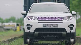 Best Cars:  Land Rover Discovery Sport Pull 100-Tonne Train