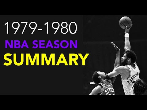 1979-1980 NBA Season Summary