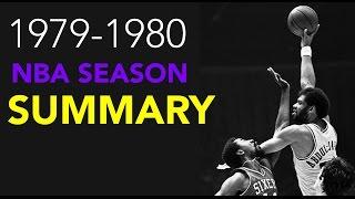 1979-1980 NBA Season Summary