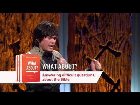 Joseph Prince - What About? Answering Difficult Questions About The Bible—Vol.1 - DVD Trailer