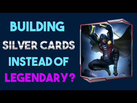 Silver Cards are MORE FUN than LEGENDARY | Injustice 2 Mobile |