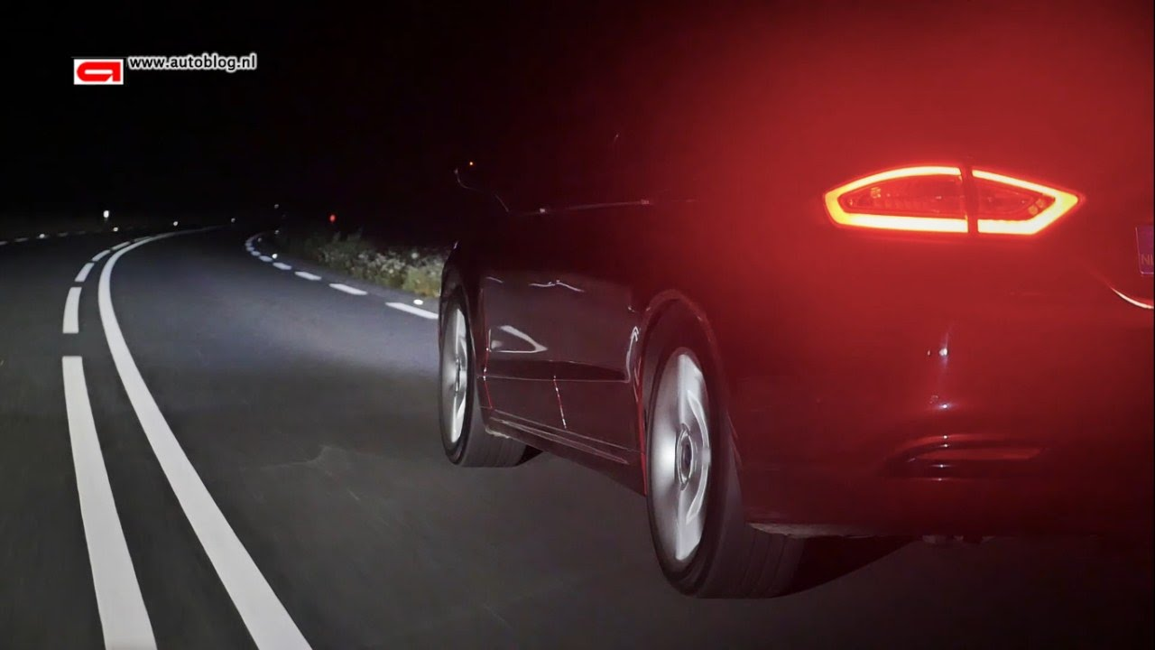 Ford Mondeo Dynamic Led Lighting Youtube