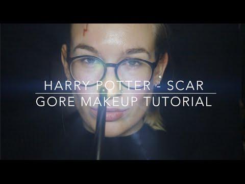 Harry Potter - Scar   Harry Potter - Gore Makeup Tutorial