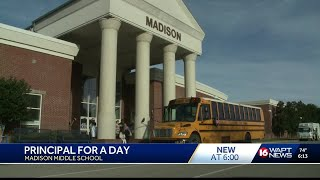 Madison County has principal for the day