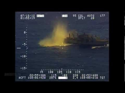 Submarine Live Fire Sink Exercise HMCS Victoria (SSK 876)