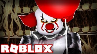 "PENNYWISE ""IT"" CLOWN IN ROBLOX! (Roblox survivre au clown effrayant)"