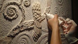 Мастер Класс #Барельеф дерева Климта ЧАСТЬ 1(3) Создание барельефа #своими руками