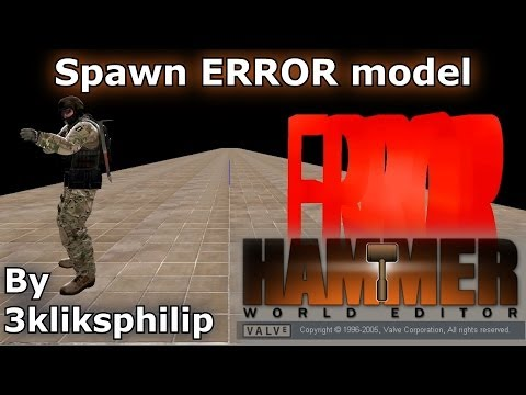 CS GO SDK tutorial - Terrorist appearing as error in Hammer - fix