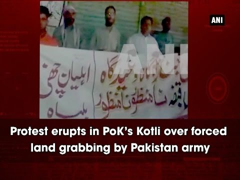 Protest erupts in PoK